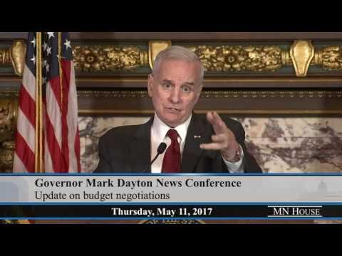 Governor Mark Dayton Media Availability  5/11/17