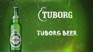 Tuborg (reklama TV ekranui) @ naktinis klubas