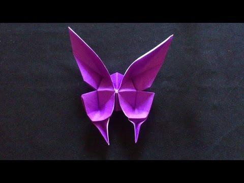 Cara Membuat Origami Kupu-Kupu Mariposa model: Evi Binzinger, Germany | Origami Binatang