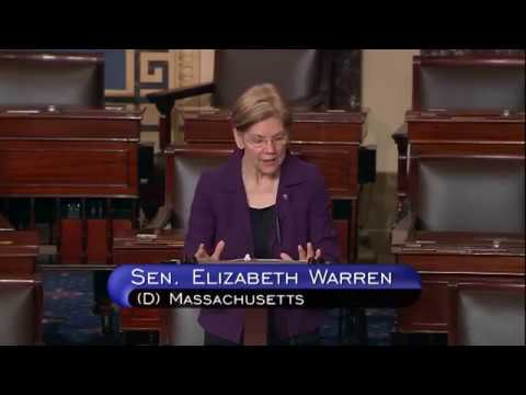 Sen. Elizabeth Warren on Kyle Duncan