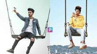 Boy Swinging In The Sky Picsart Tutorial || Vijaymahar Editing Tutorial || Picsart Editing Tutorial