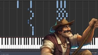 League of Explorers - Hearthstone [Piano Tutorial] (Synthesia)