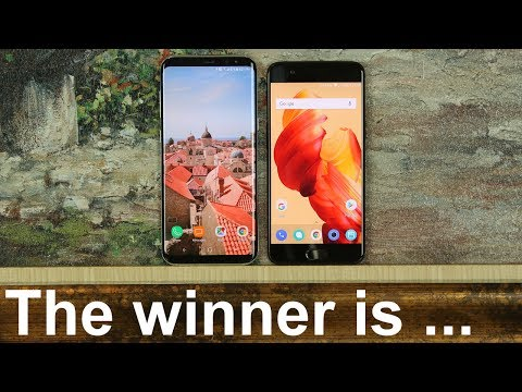 OnePlus 5 vs Samsung Galaxy S8+ Full Comparison