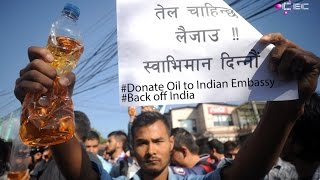 Back off India - Donate Oil to Indian Embassy