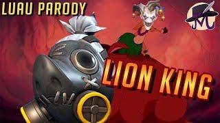 Lion King Luau Overwatch Parody! Mathew Farrugia (Dabura911)