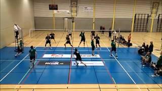 volleybalwedstrijd Langhenkel HS 4 tegen Vollverijs HS 1  4 april 2013  2-3