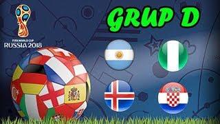 WAJIB DICATAT!!! Jadwal Lengkap Grup D Piala Dunia 2018