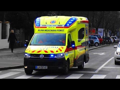 [T6] RTW Rettungsdienst NMP UKC Ljubljana