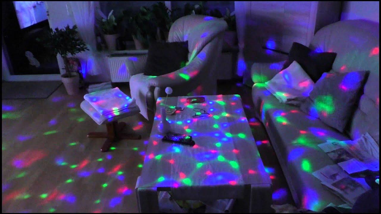 bester Lieferant große Auswahl an Farben Designermode LED Fabrwechselbirne mit Roatation - Discokugel - DBPOWER