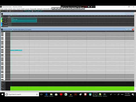 VOCALOID4 TUTORIAL- Cross-Synthesis(harmony)