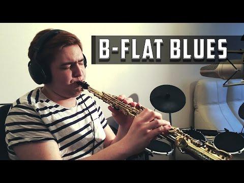 B-flat Blues Improvisation (Soprano Sax)