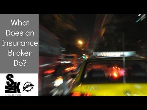 Car Insurance Halifax - What Does an Insurance Broker Do?