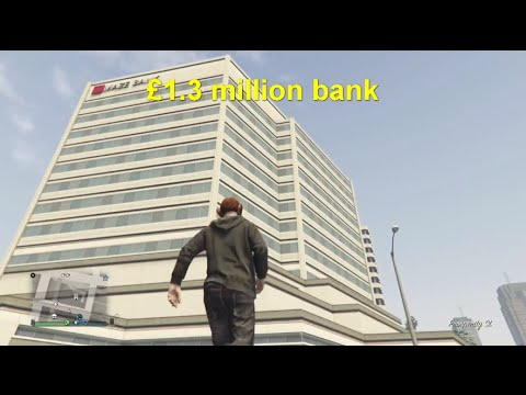 GTA 5 - I brought a bank for 1.3 millon (first medical supply fail)