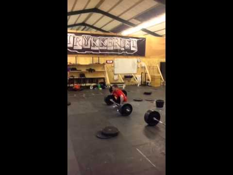 Clean & Power Jerk  125 x 1 rep by TB