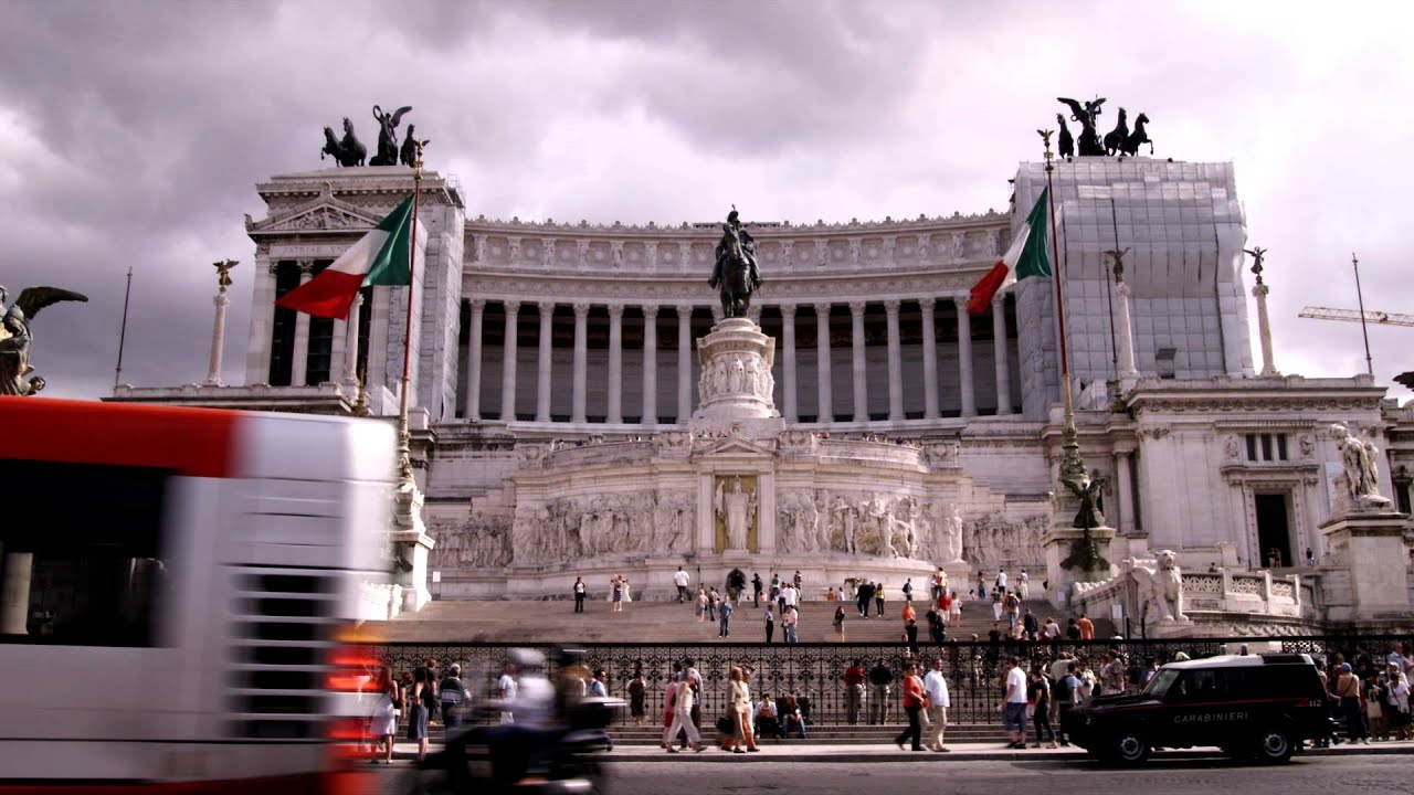 Government building in Rome Italy. - YouTube