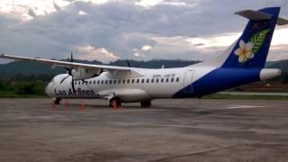 搭乗には遺書が必要#墜落事故危険度№1!中国製プロペラ機MA60恐怖の搭乗記! (ラオス航空)