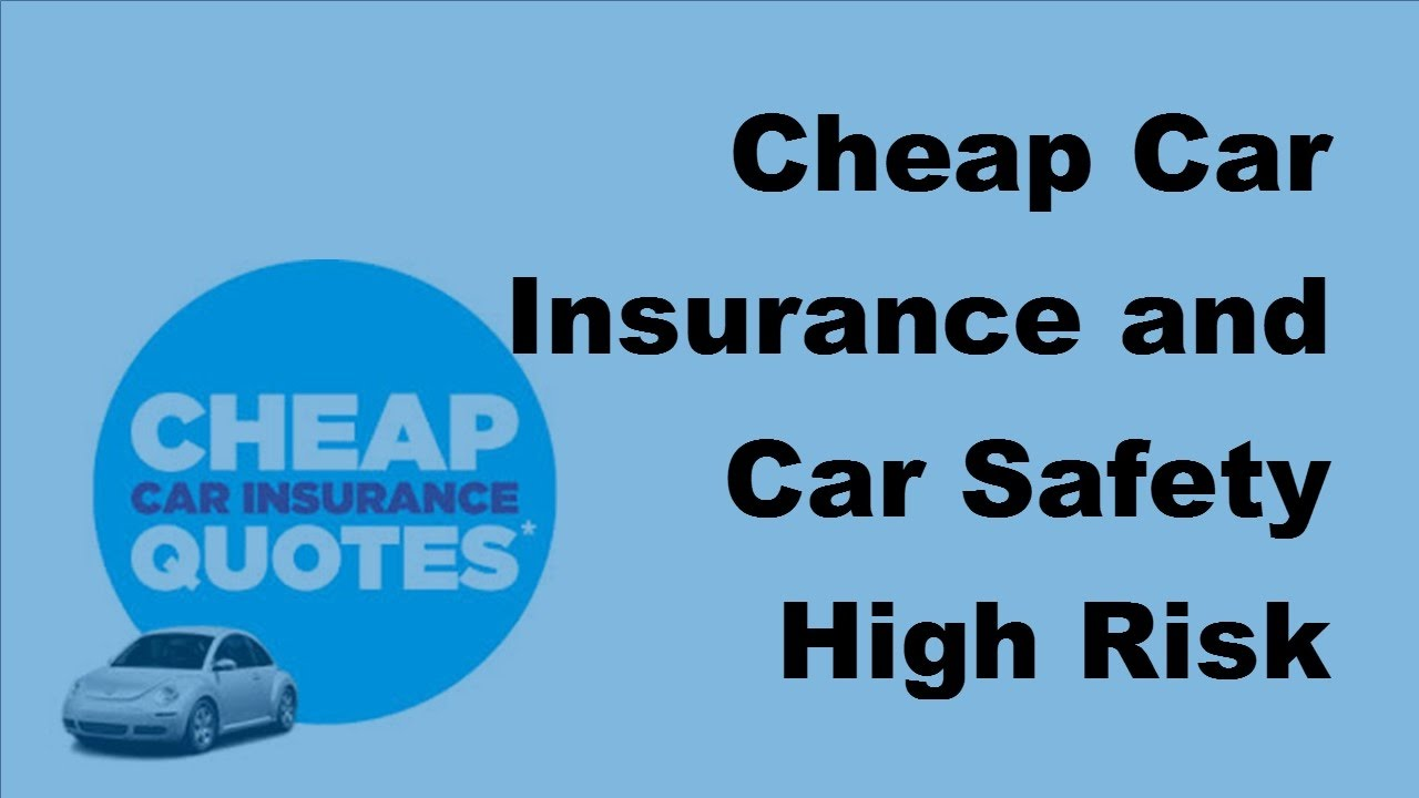 Titan Insurance Quote Cheap Car Insurance And Car Safety  High Risk Drivers  2017 Car