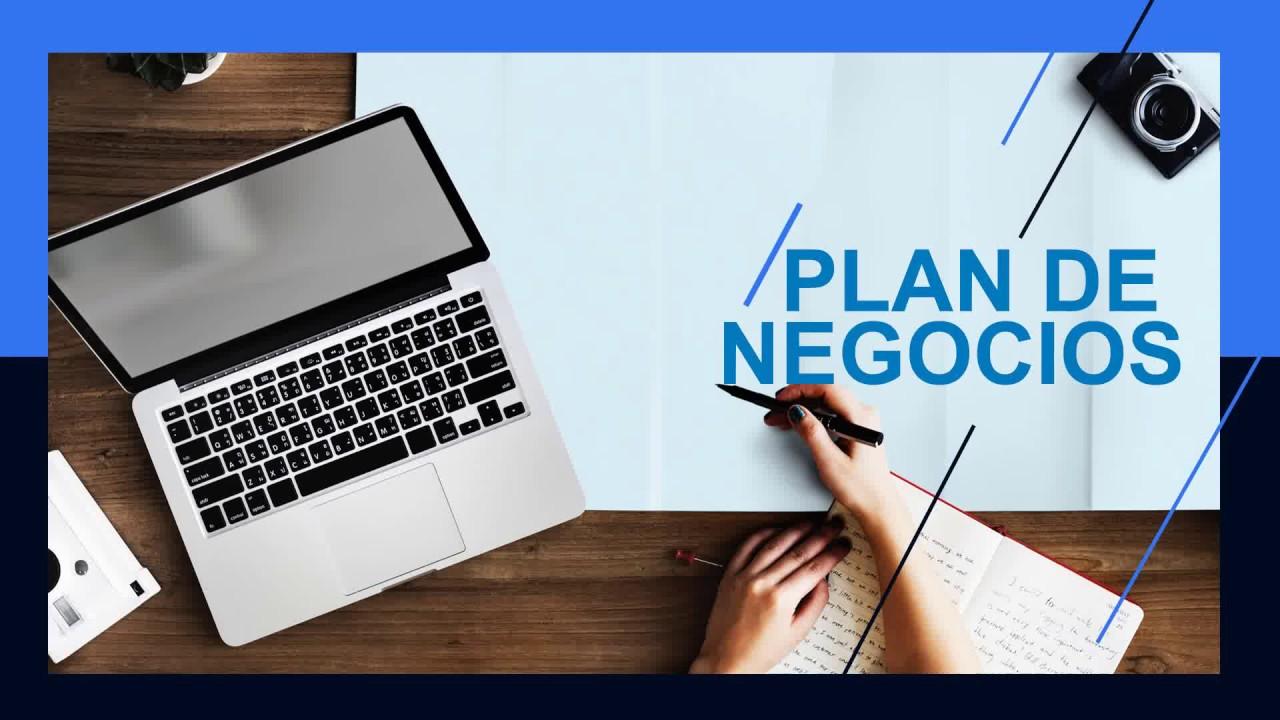 Plantilla Plan De Negocio Sky Power Point Youtube