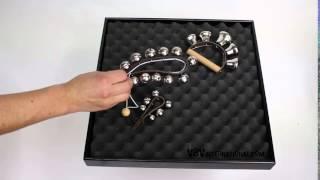 Leather Strap with 11 Bells - 3+ video