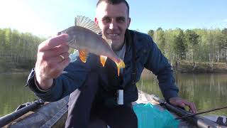 рыбалка весной на спиннинг с лодки щука окунь тест лодки пвх
