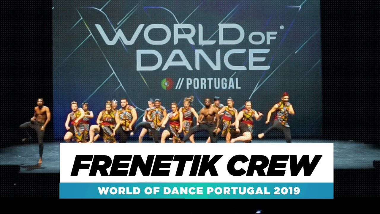FRENETIK CREW   2nd Place Team   Full Stage   World of ...