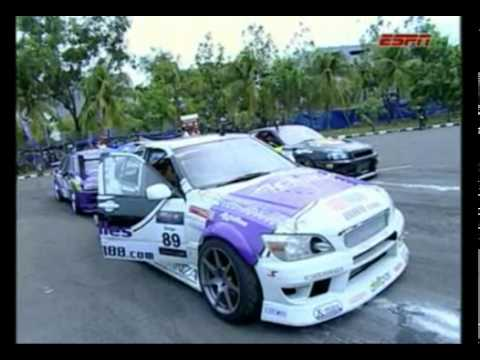 แข่งดริฟรถ Formula Drift Indonesia 2011 ตอนที่ 2