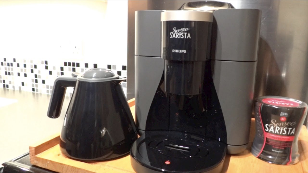 Senseo Sarista Coffee Machine Review (English Language ...