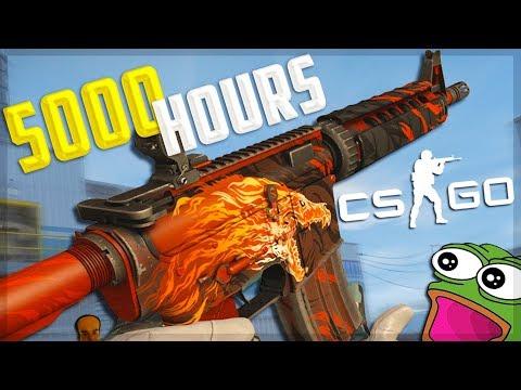 What 5000 Hours Of CS:GO Looks Like...
