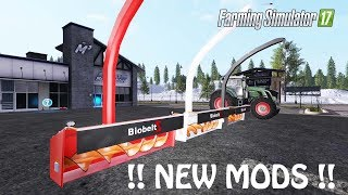NEW MODS in Farming Simulator 2017 | NEW SNOW BLOWER MOD FINALLY HERE IN FS17 | PS4 | Xbox One