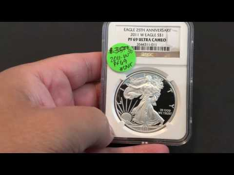 2011 W American Silver Eagle...What's This Coin Worth?