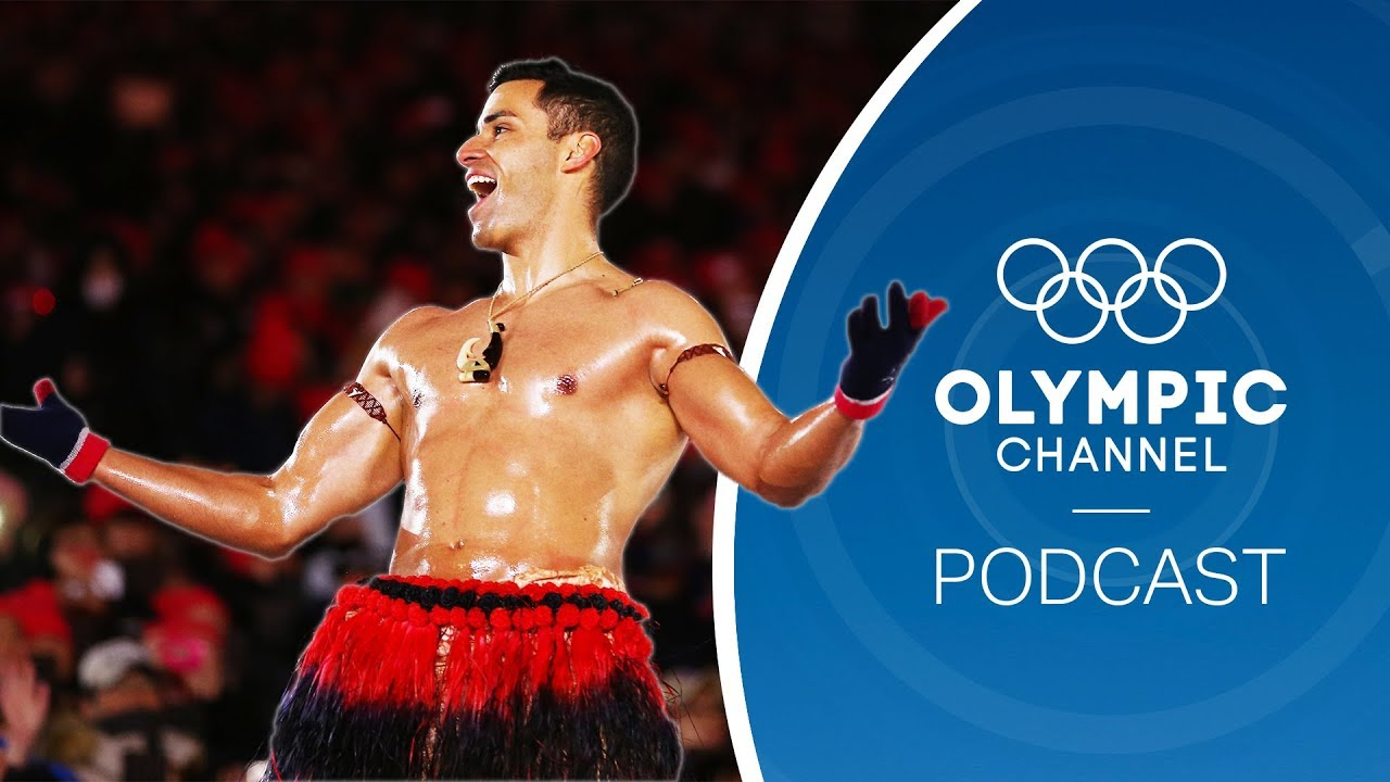 Tonga Winter Olympics 2020.The Shirtless Tongan Takes On Kayaking For Tokyo 2020 Olympic Channel Podcast