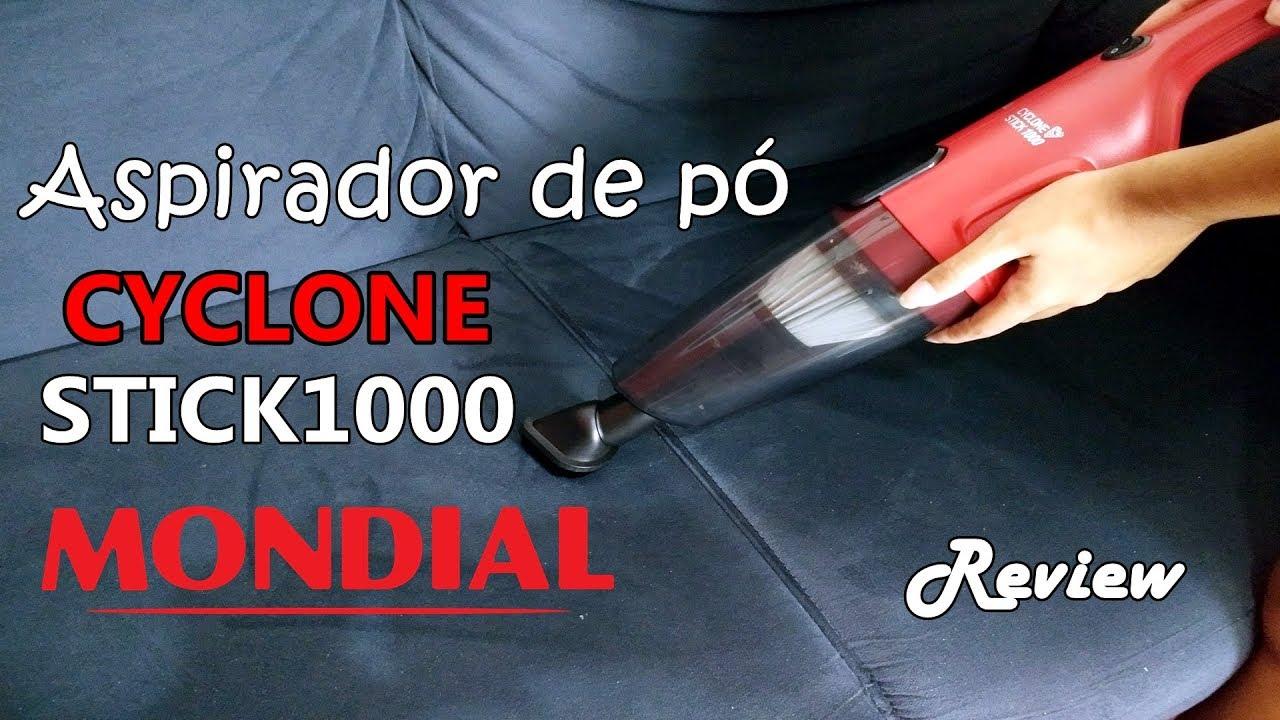 453855b7e RESENHA ASPIRADOR DE PÓ MONDIAL - CYCLONE STICK 1000 AP-22 - YouTube
