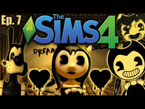 LOVE TRIANGLE!! - The Sims 4: Bendy and the Ink Machine - Ep 7 (Part 2)