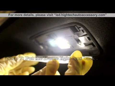 LED C3 Package Installation Map(31mm)+Dome(31mm)+ Courtesy (T10)+Trunk Light(31mm)