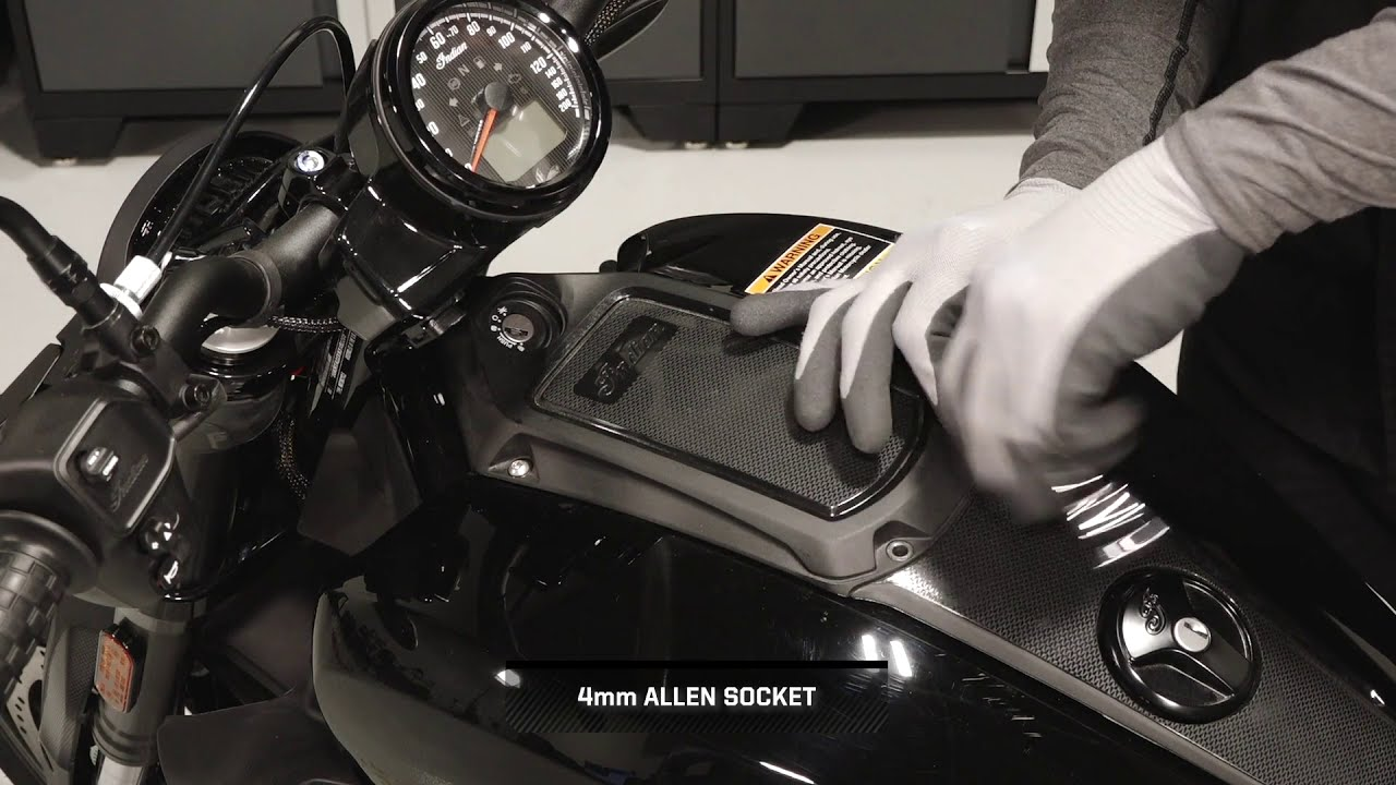 FTR 1200 Sport Collection Installation - Indian Motorcycle