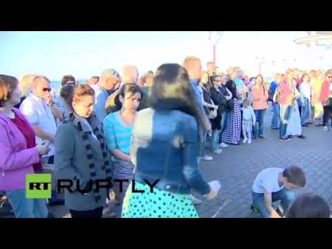LIVE: Vigil for victims of Karelia lake tragedy takes place in Petrozavodsk
