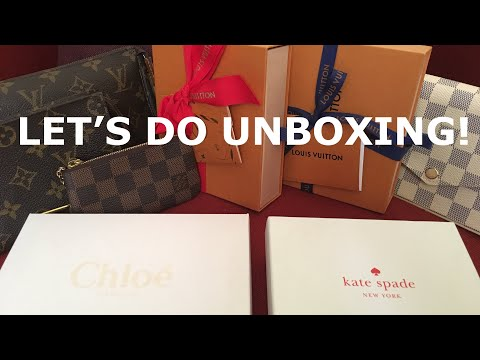 UNBOXING/UPDATED SLG COLLECTIONS/Louis Vuitton/Kate Spade/Chloe Vlog #19