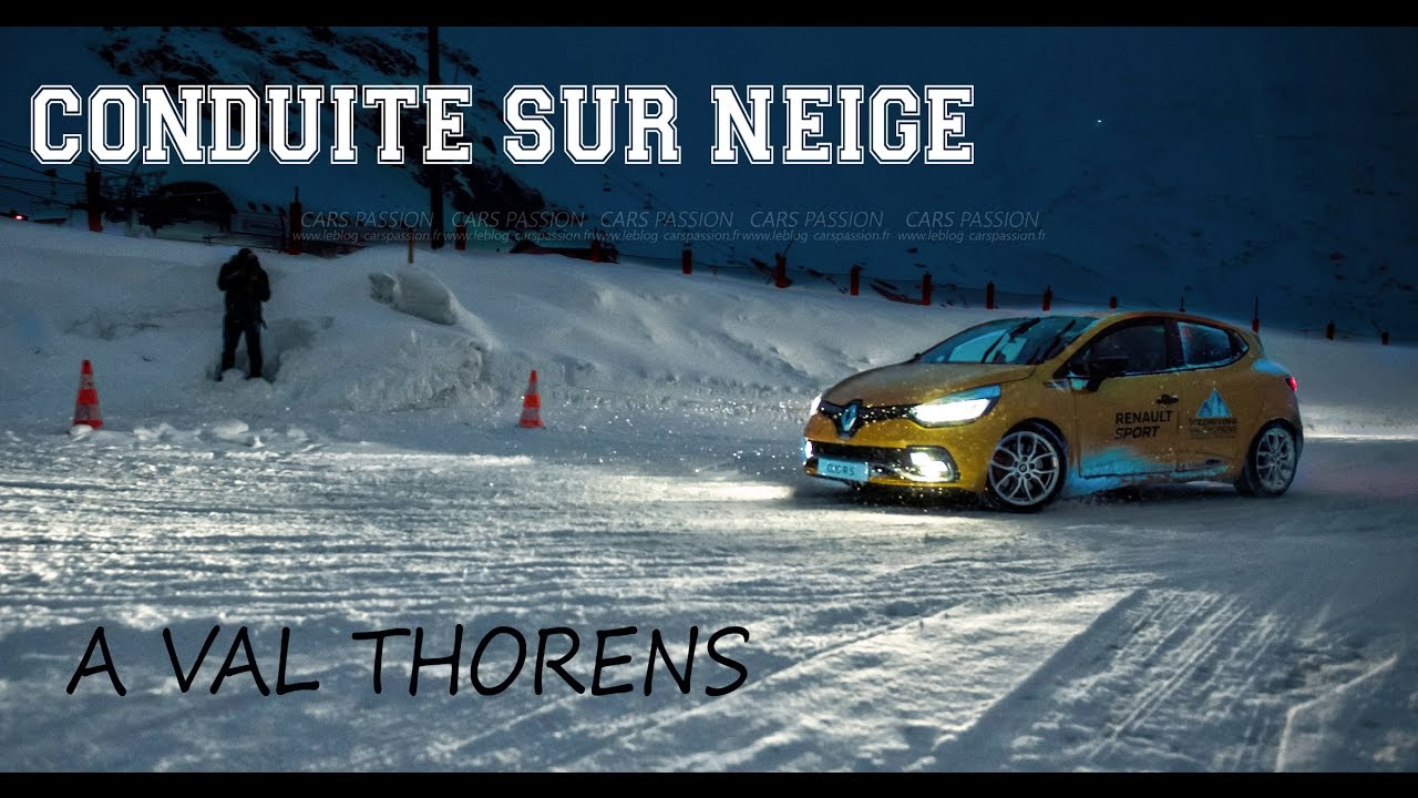 clio 4 rs conduite sur glace val thorens avec renault sport vlog fr 20 youtube. Black Bedroom Furniture Sets. Home Design Ideas