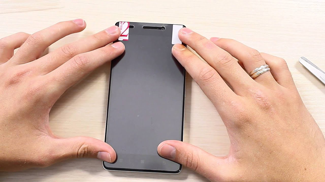 4313e6bbdff6 Клеим Пленку на Lenovo K3 Note - YouTube