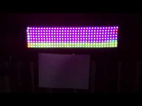 LED Matrix 32x8 (WS2812) teensy | FunnyCat TV