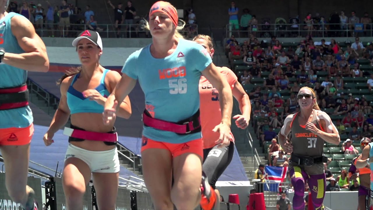 Compex At The Reebok Crossfit Games 2015 Youtube