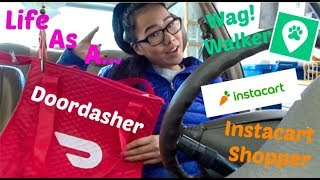 Download A Day in the Life of a WAG WALKER/DOORDASHER/INSTACART SHOPPER Mp3