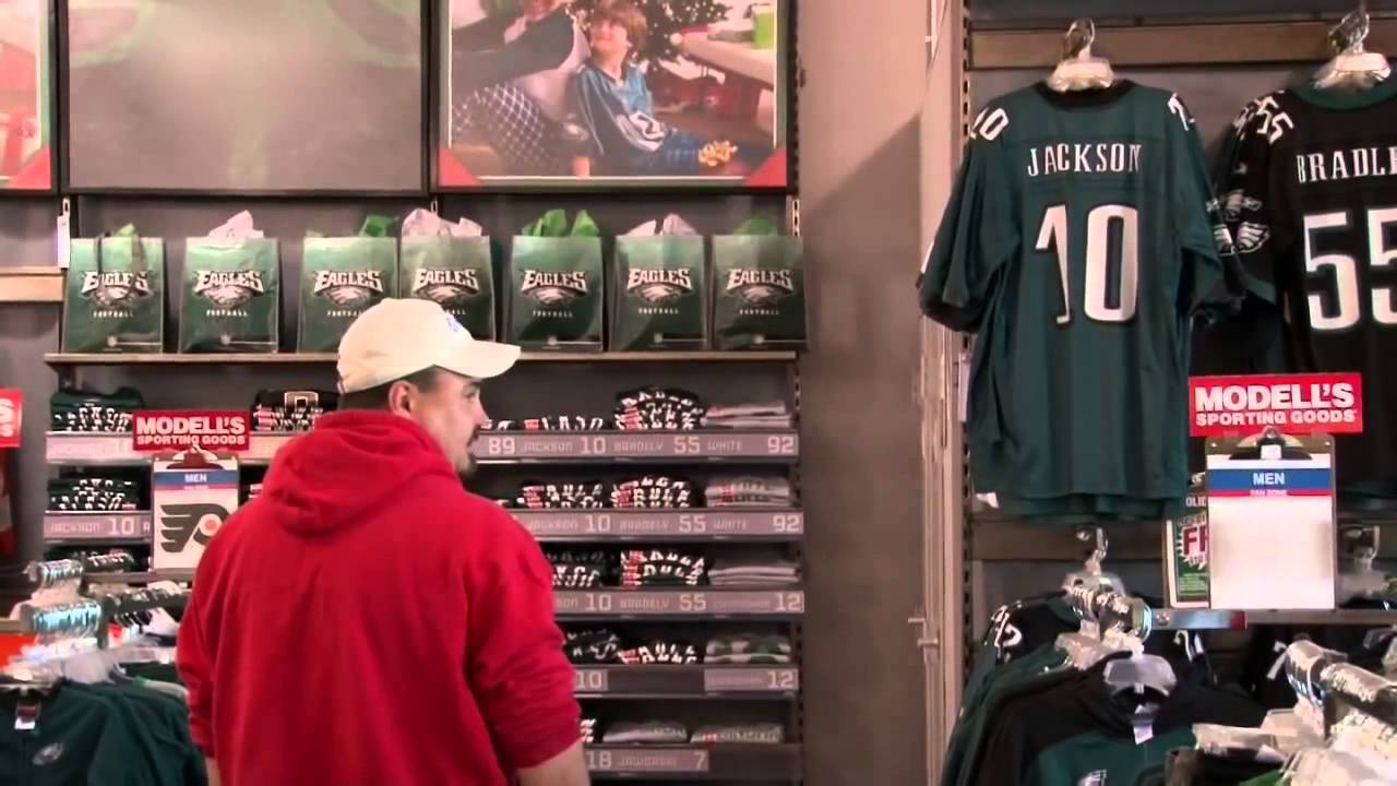 DeSean Jackson as Modell's Employee Selling His Own Jersey