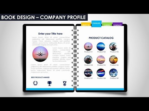 Multipurpose PowerPoint Template/Notebook Design/Business Infographics/Company Profile / Free PPT