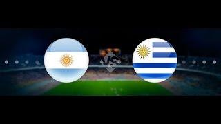 отборочный матч к ЧМ2018. Уругвай - Парагвай 4:0