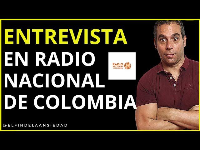 💙 Entrevista a Gio Zararri en Radio Nacional de Colombia