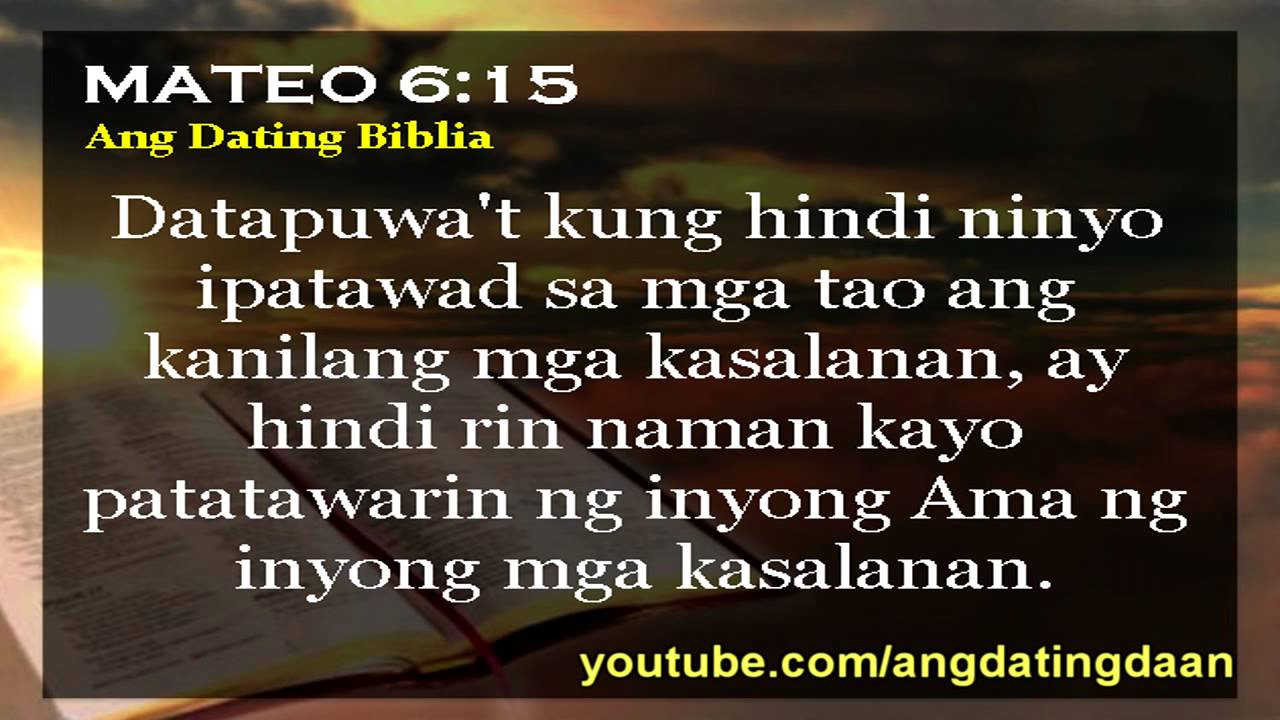 ang dating daan bible quotes