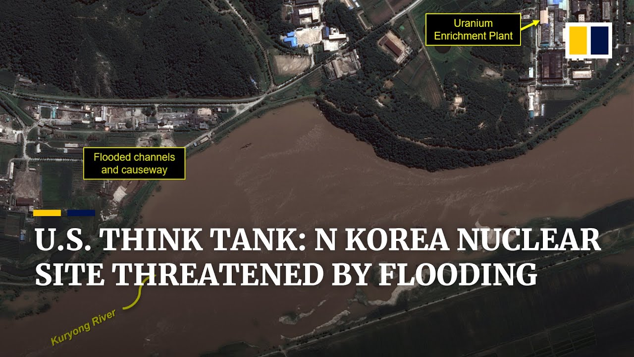 North Korea nuclear site threatened by recent flooding, says US think tank