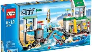 Обзор LEGO 4644 Пристань для яхт///Действительно летний!