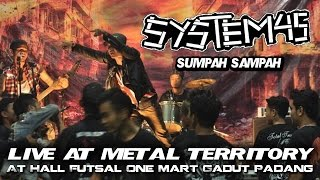 Band Grindcore | System 45 - Sumpah Sampah | Live At Metal Teritory | 21 Desember 2014